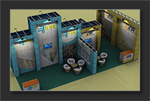 Reusable Exhibition Stands